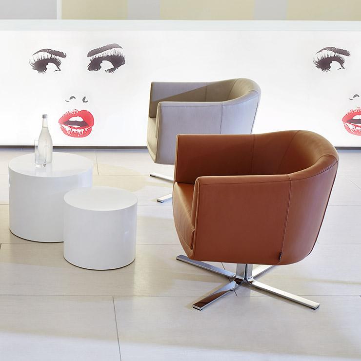 Erpo Ertingen sessel cp113 lounge contract professionals